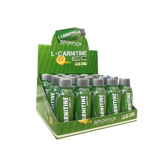 Sportica Nutrition L-Carnitine 3000 mg 20 Ampul