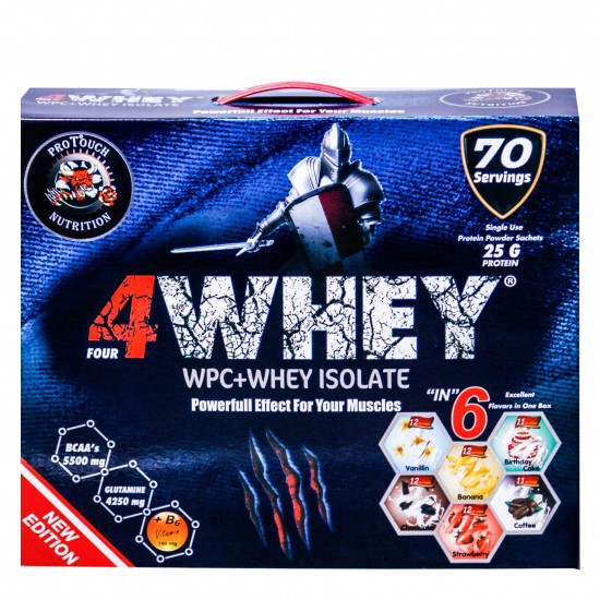 PROTOUCH 4WHEY 2450G 70 SERVIS 6 AROMA PROTEIN TOZU