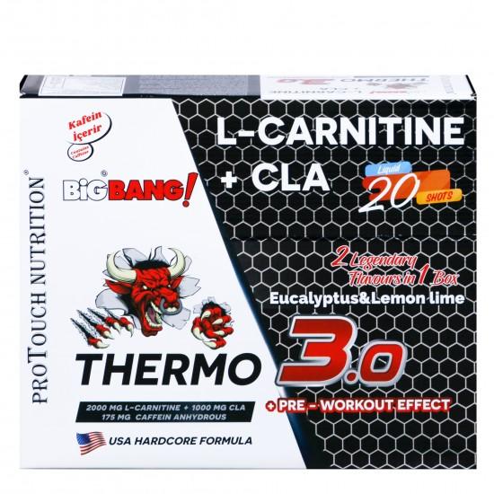 Protouch Big Bang Thermo 3.0 L-Carnitine+Cla Yağ Yakıcı